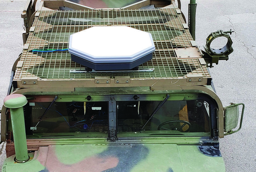 USMC CopaSAT STORM Installation SATCOM On the Move